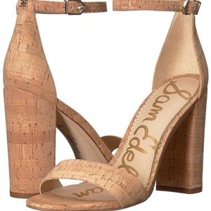 Sam Edelman Cork Heel with Strap